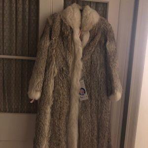 Jackets & Blazers - Full length fur coat